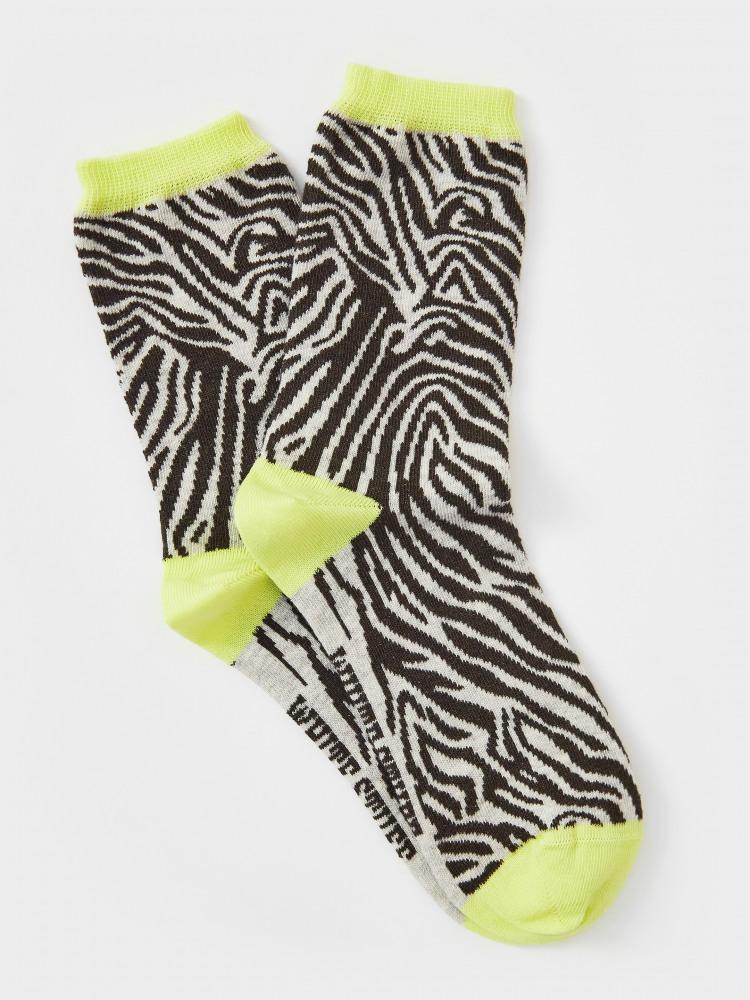 Zebra Pattern Sock