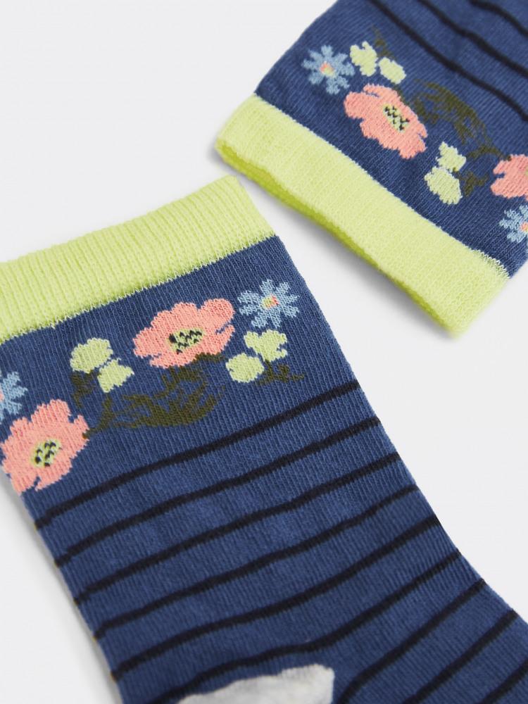 Fleur Midi Sock