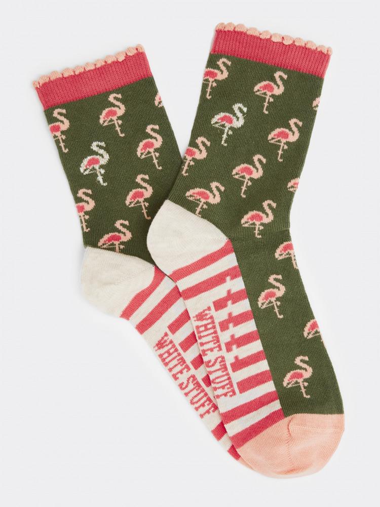 Flo Flamingo Sock
