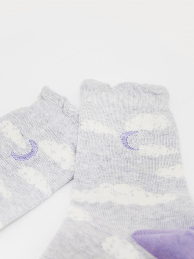 Luna Cloud Sock