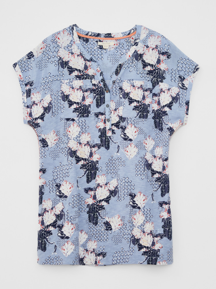 Summer Jersey Woven Mix Tunic