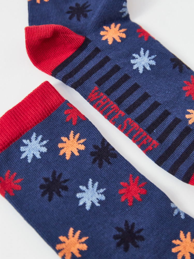 Aimi Flower Sock