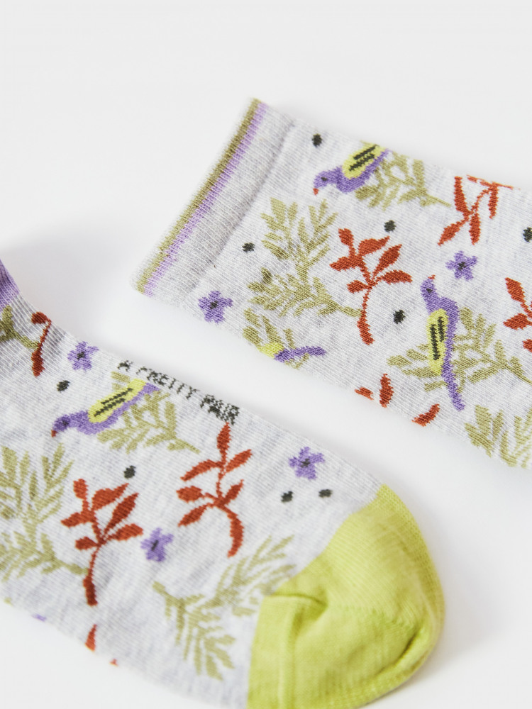 Rowan Leaf Sock