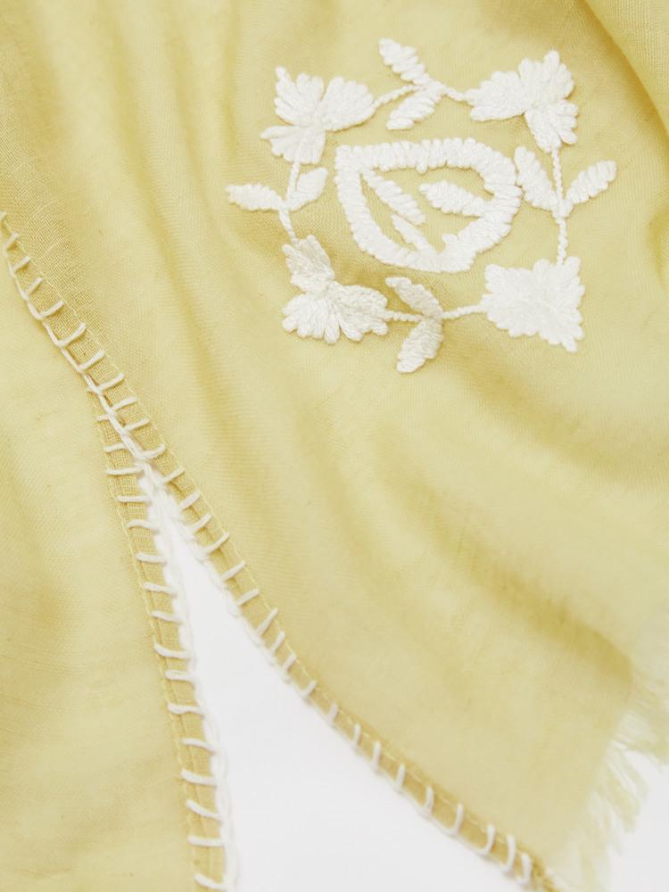 Vinyasa Cotton Linen Scarf