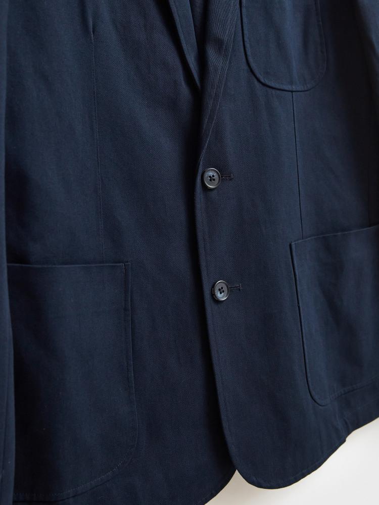Essential Cotton Blazer