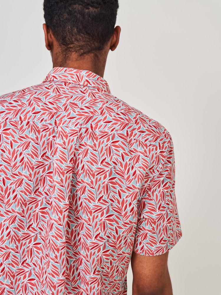 Foliage Print Shirt