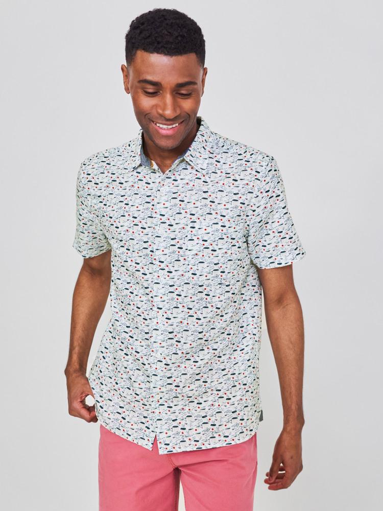 Wasen Print Shirt