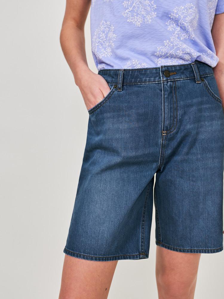 Denim Bermuda Short