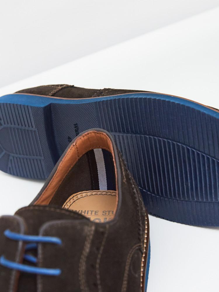 Bobby Brogue Lace Up Shoe