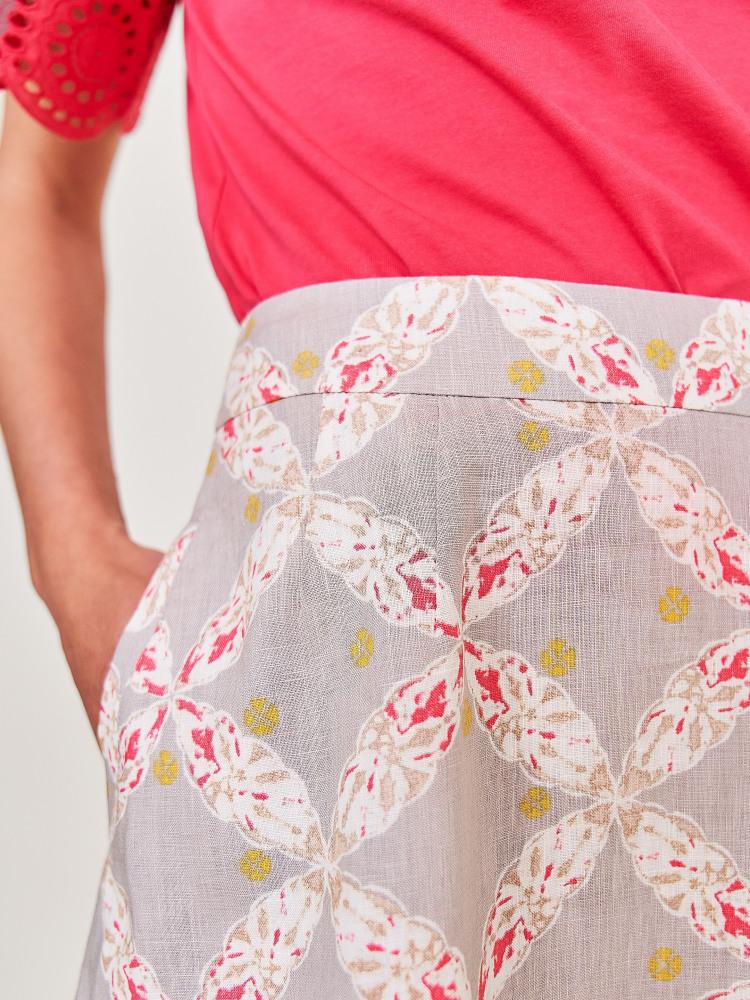 Dixie Linen Skirt
