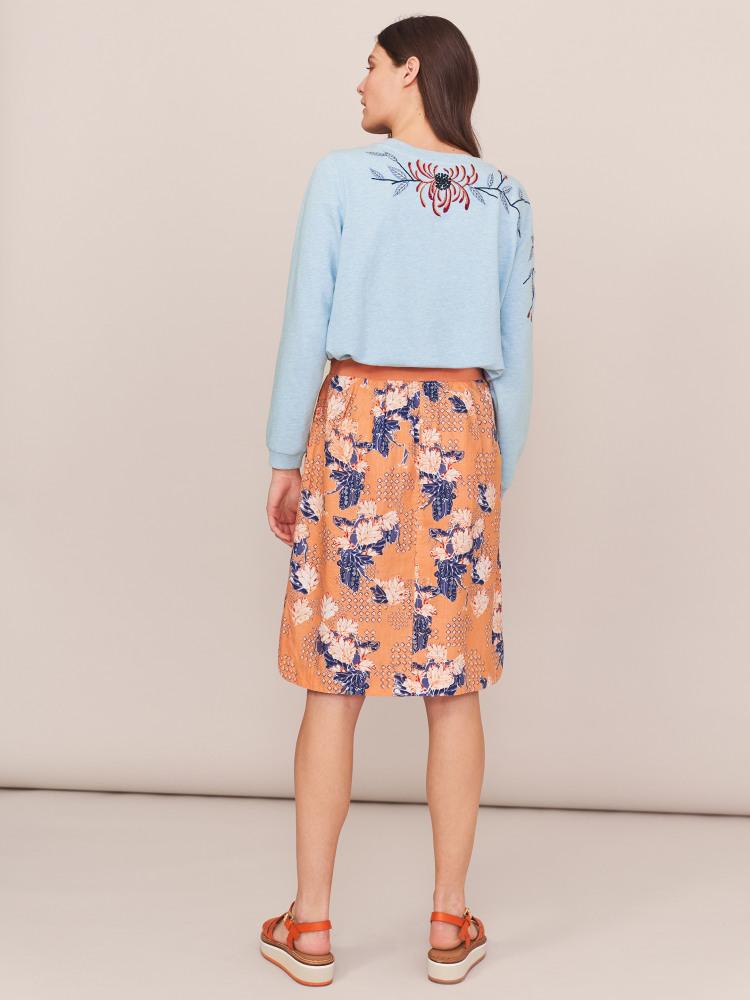 Aria Linen Skirt