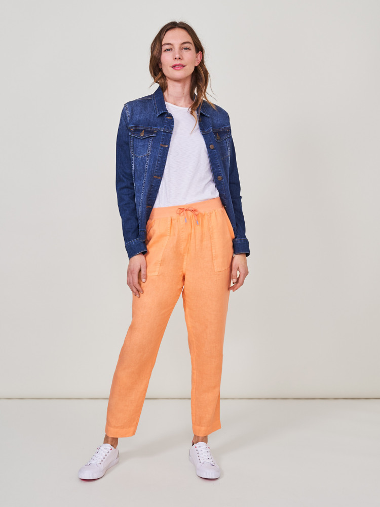 Aria Linen Trousers