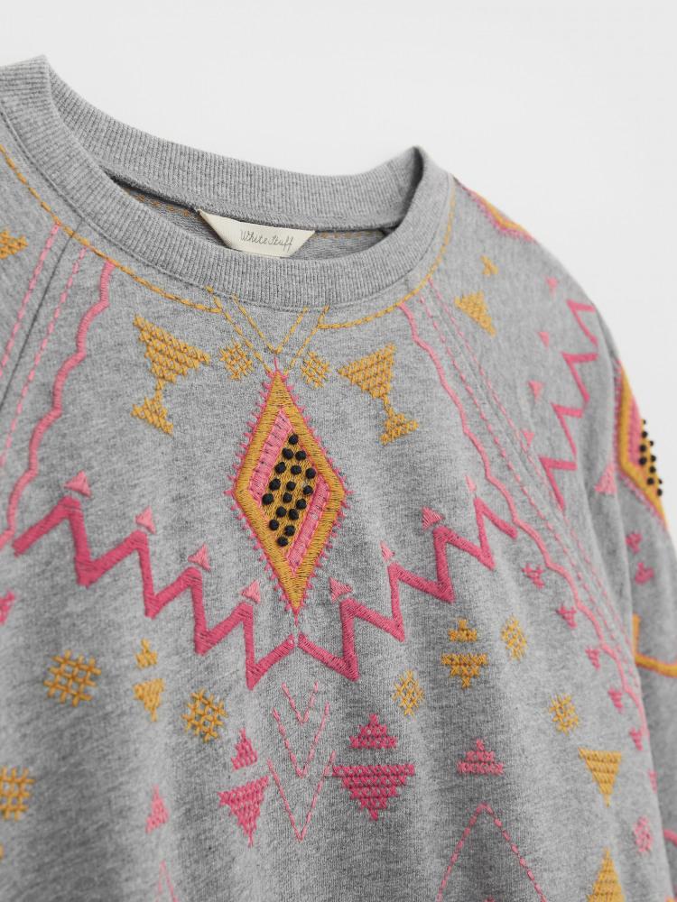 Eden Embroidered Sweat