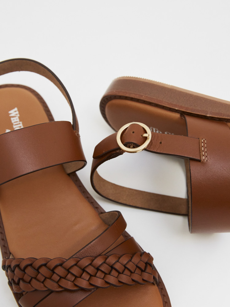 Craft Leather Mini Wedge