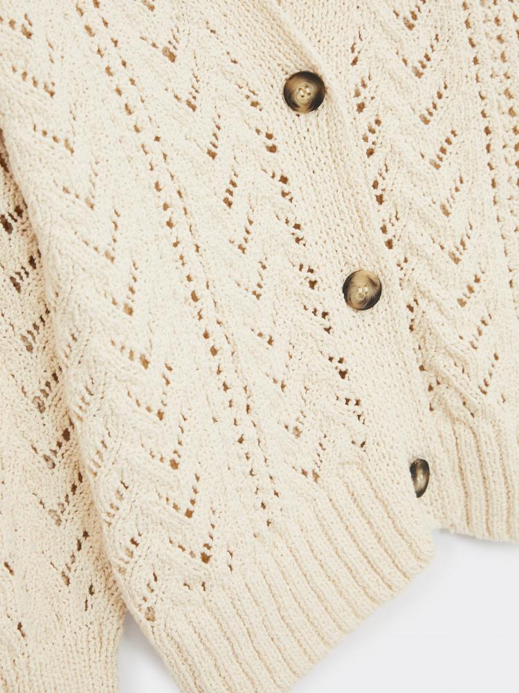 Gigi Cotton Stitch Cardi