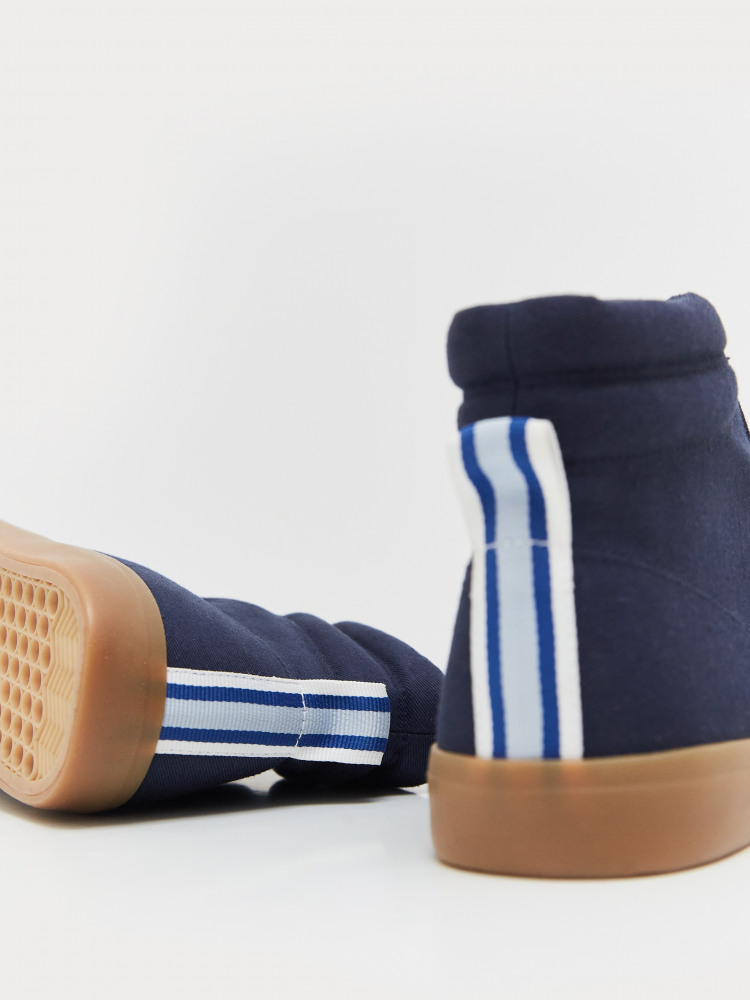 Canvas High Top Trainer