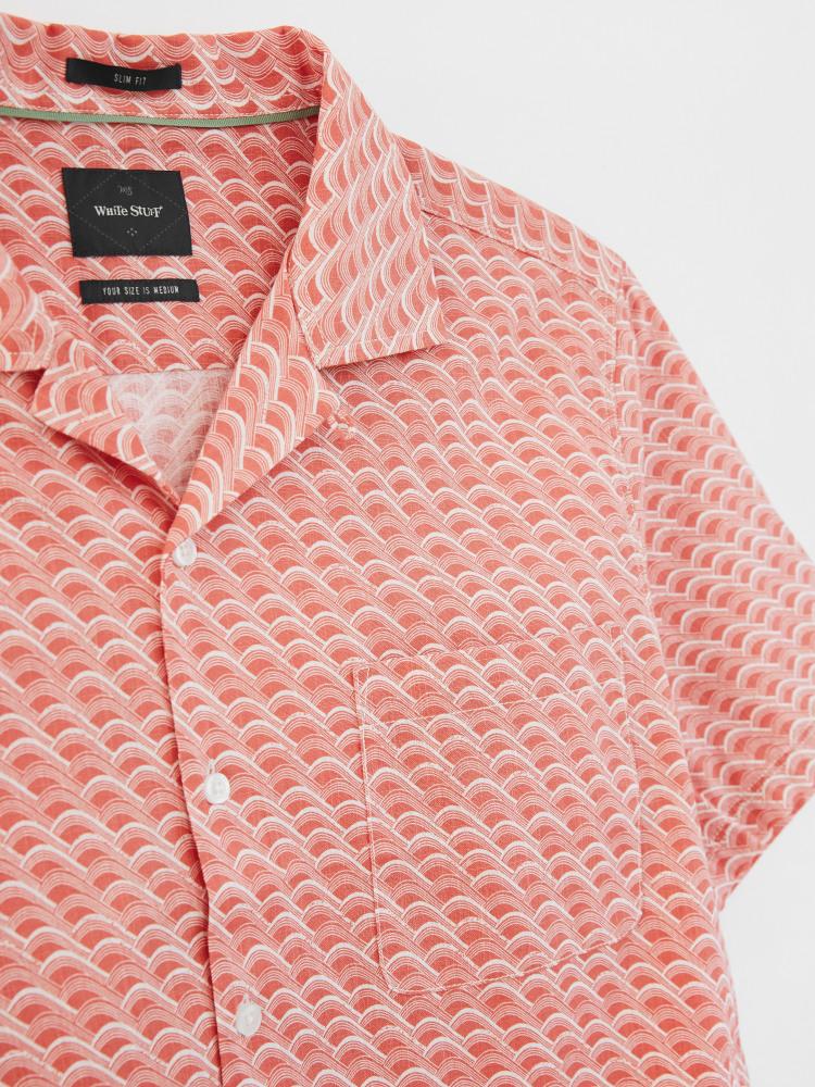 Geo Wave Print Shirt