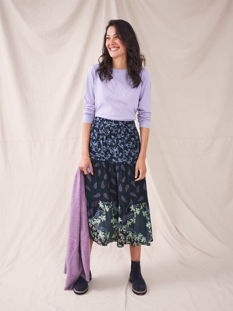 Piper Tiered Skirt