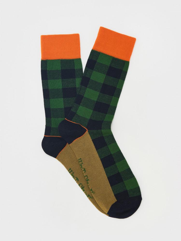 Noah Check Sock
