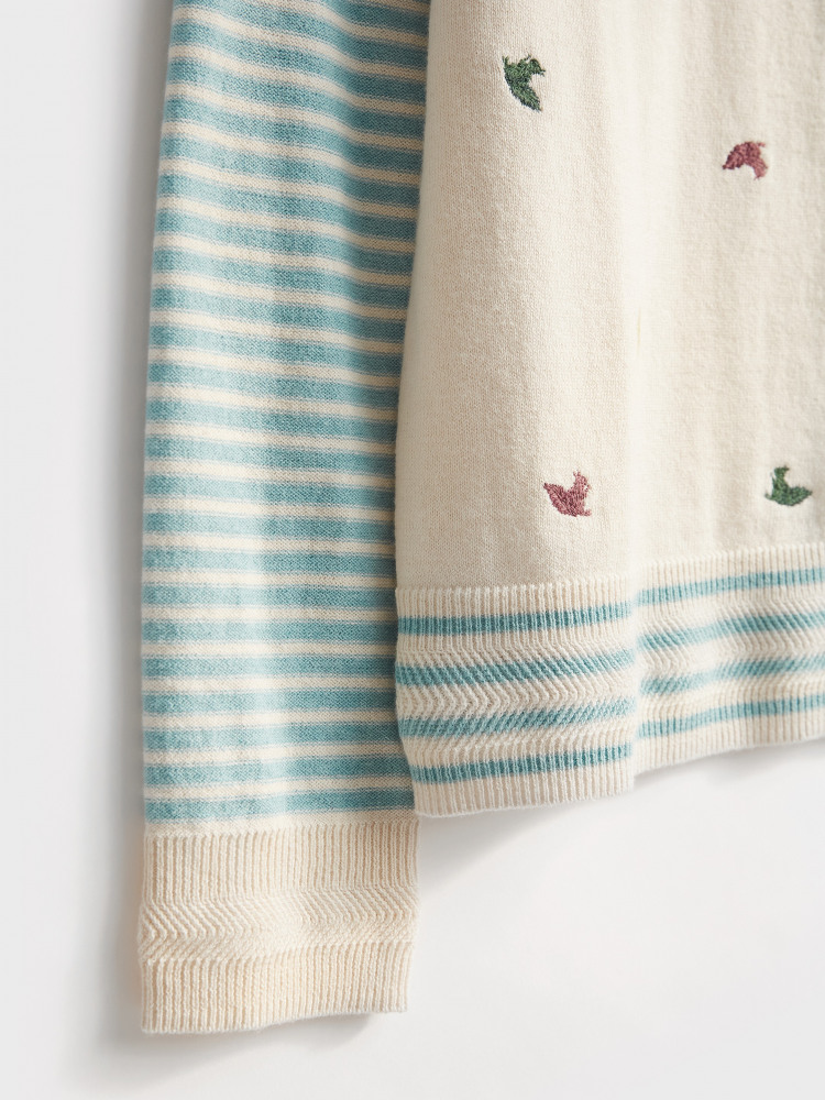 Hawthorn Embroidered Cardi