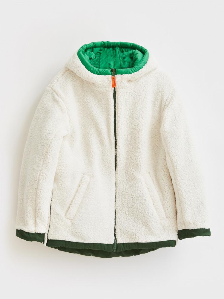 Finley Reversible Borg Jacket