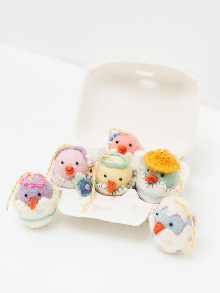 Cool Chicks 6 Egg Box