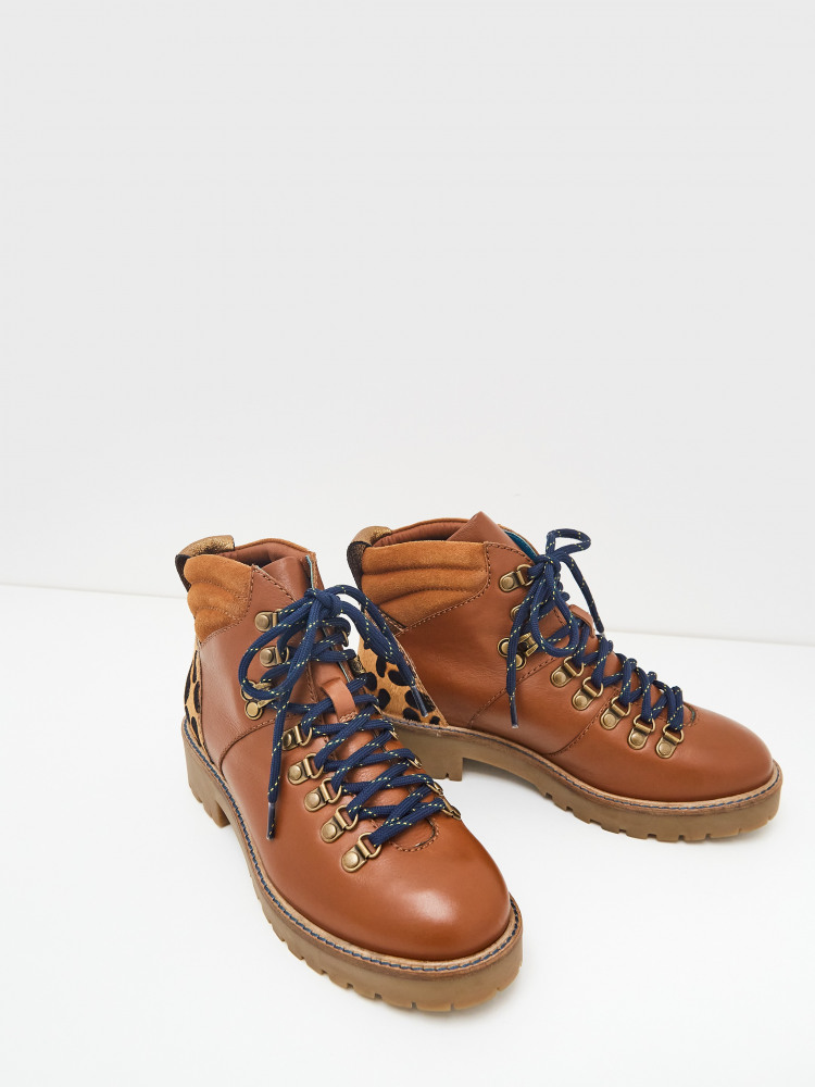 Etta Chunky Lace Up Hiker Boot