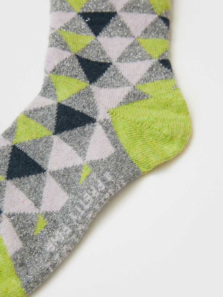 Geo Boot Sock