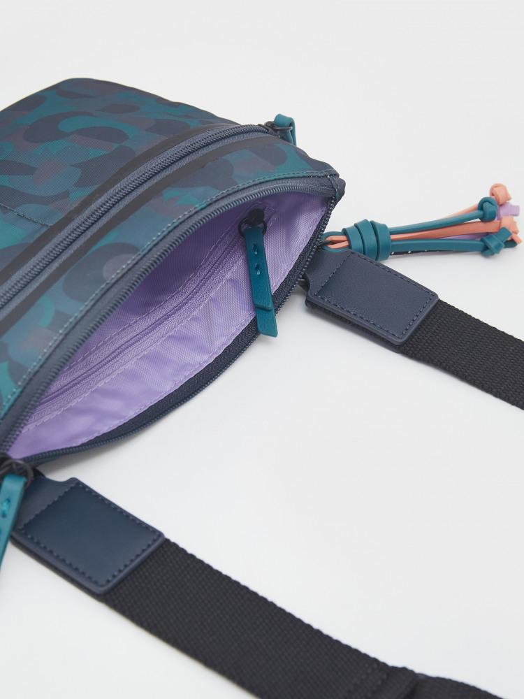 Recycled Nylon Crossbody Bag