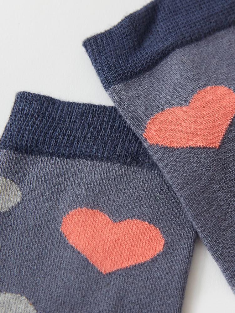 Heart Bamboo Sock