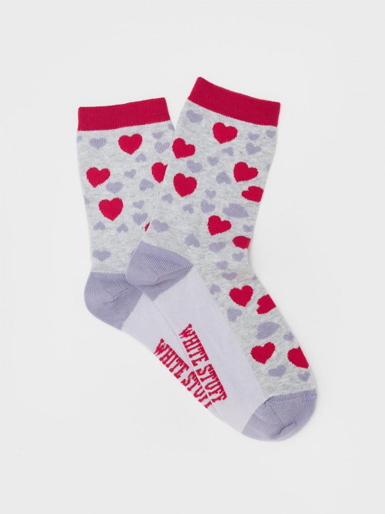 Annie Heart Sock