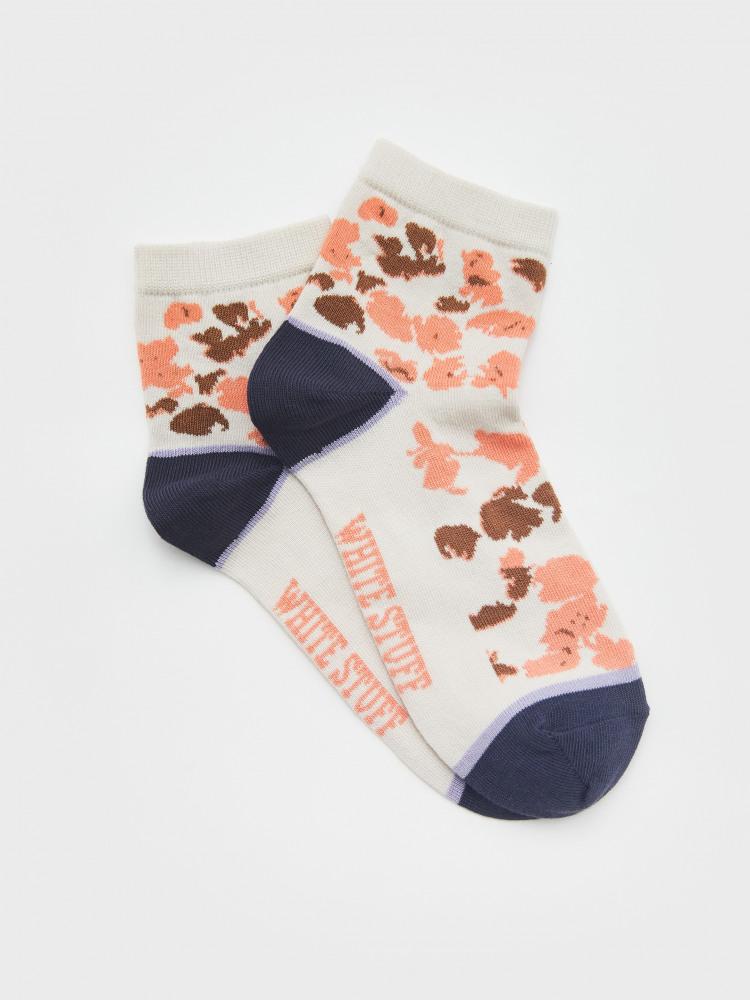 Barbara Abstract Midi Sock