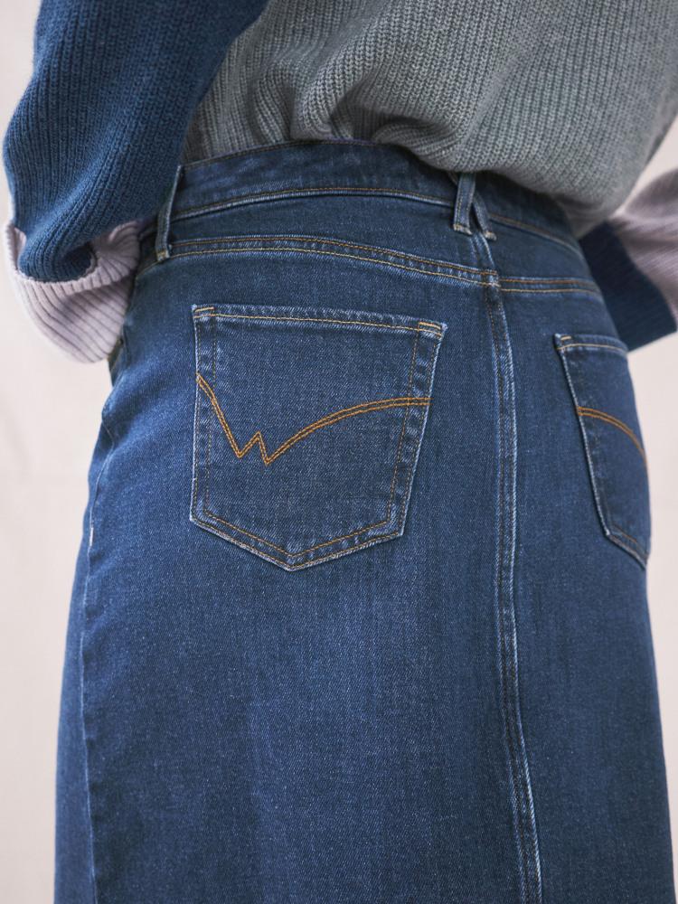 Ava Denim Skirt