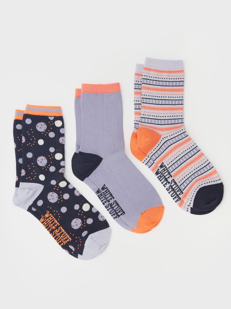 Diane 3 pack Socks
