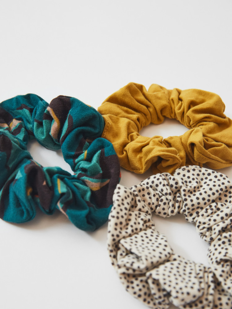 3 Pack Jersey Offcut Scrunchies