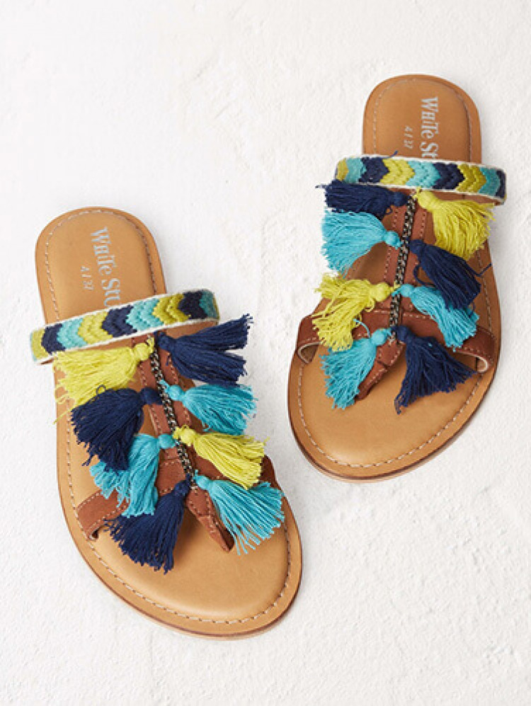 The Tassled Sandal