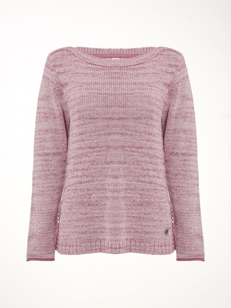Swift Knit Top Momo Pink White Stuff