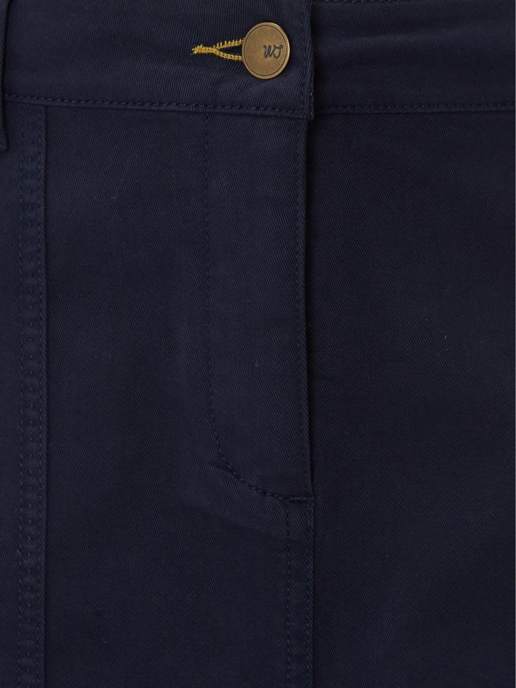 9bff9c47f9 Bessie Chino Skirt (Navy) | White Stuff