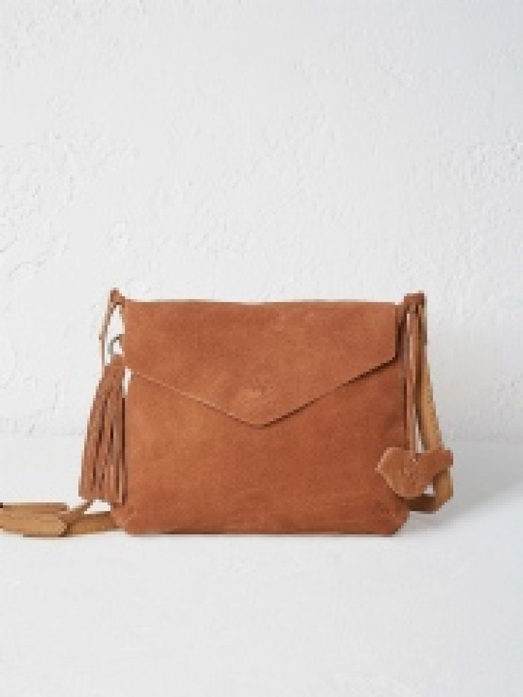 cd9b51203884 Suede Mandy Crossbody Bag (Tan)