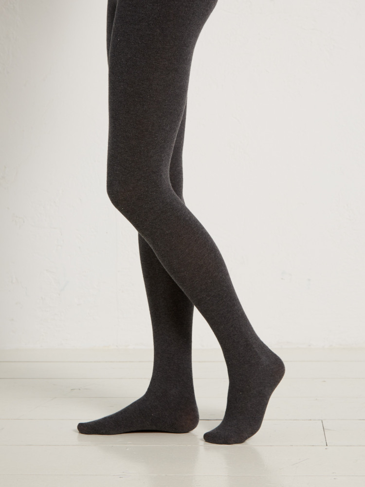5a41a898b Patty Plain Tights (Charcoal Marl)