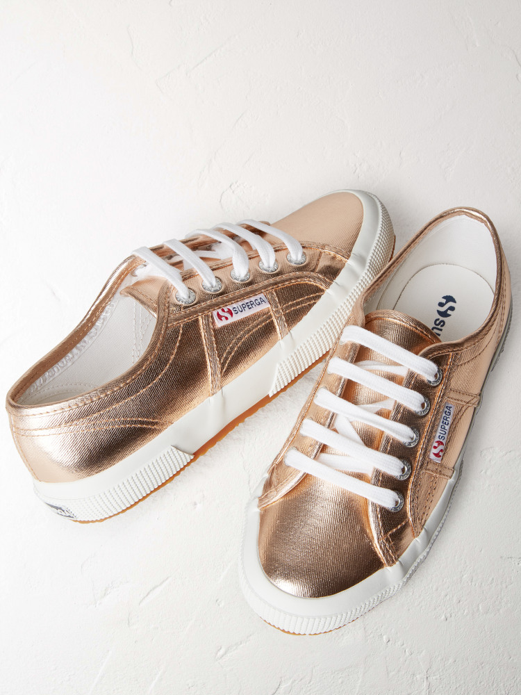 Superga Metallic Trainer