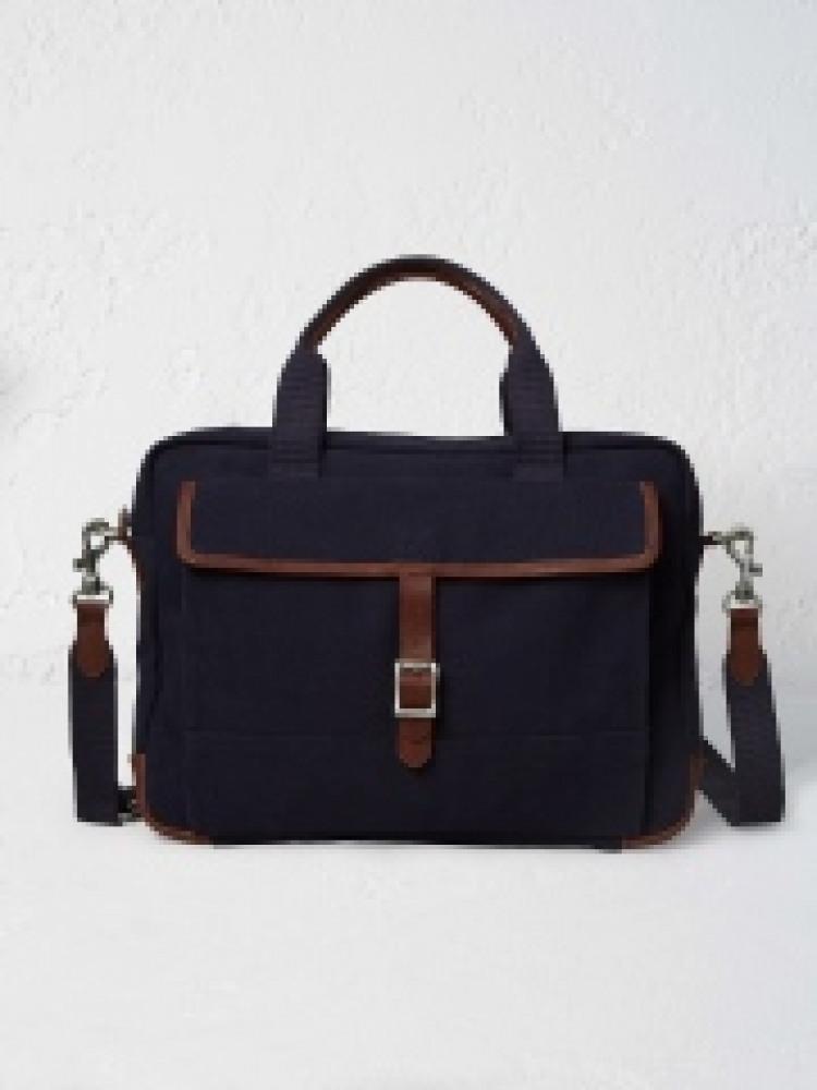 Larry Laptop Bag Navy