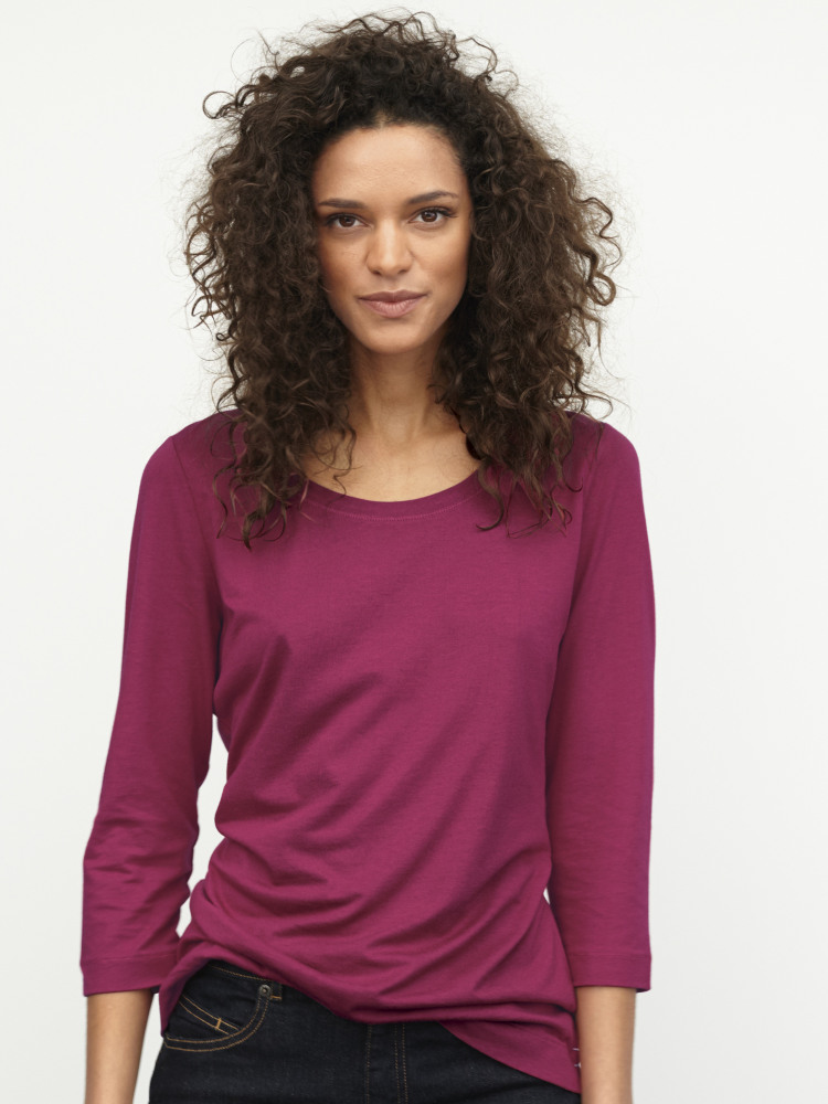 3/4 Brushed Layer Jersey Tee