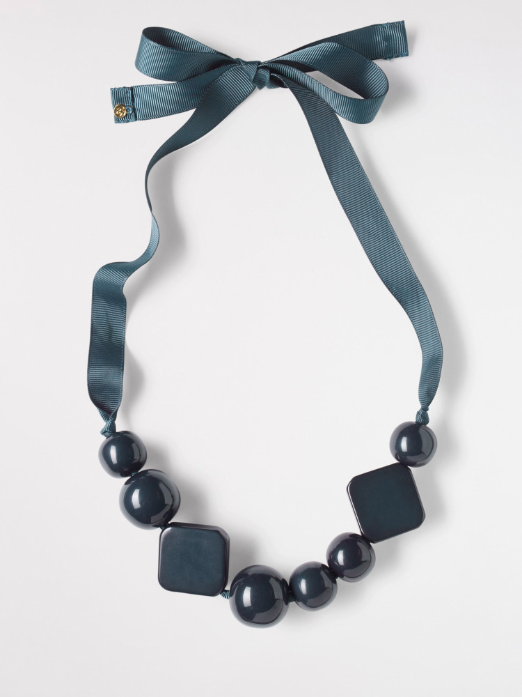 Colourblock Statement Necklace