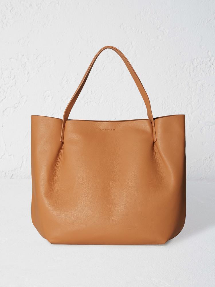 8882ae76030f Hepworth Luxury Leather Tote (Tan)