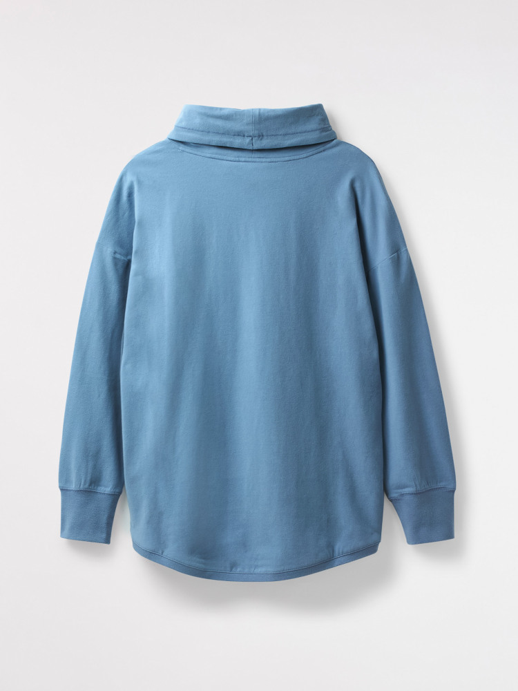 Cosy Casual Cowl Neck Sweat