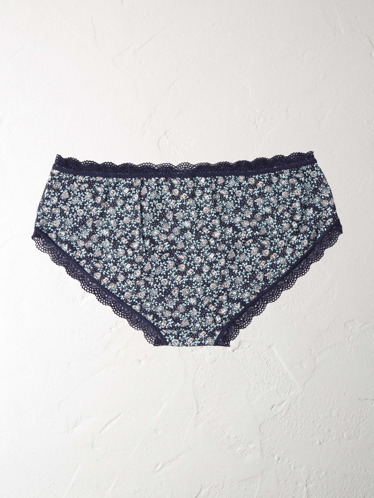 Ditsy Floral Spot Shortie