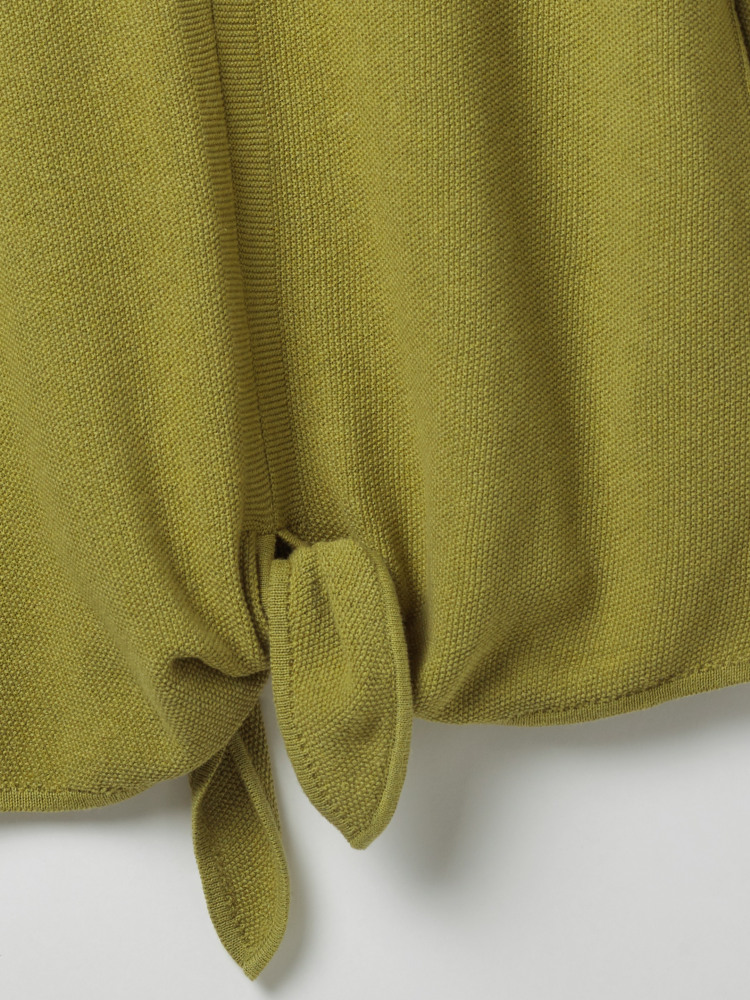b94eb2548b66 Canvas Tie Jumper (Pear Green Plain)