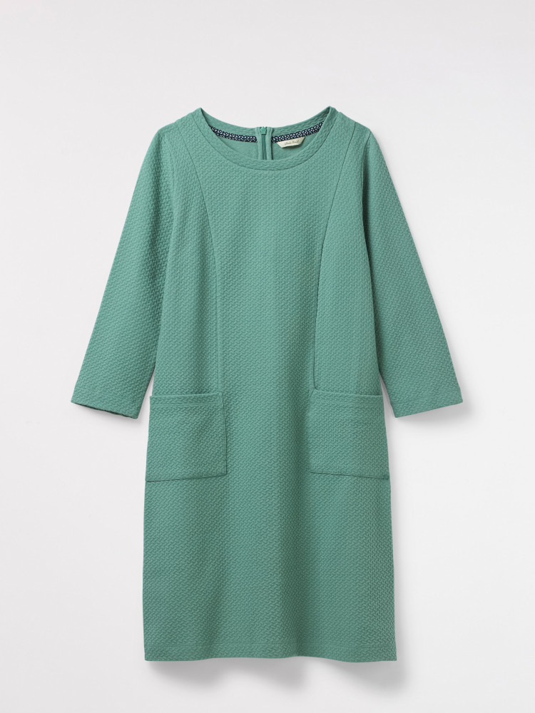Brooke Textured Jersey Dress