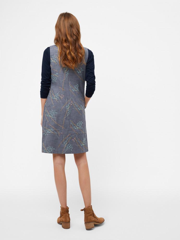 Megan Structured Emb Dress